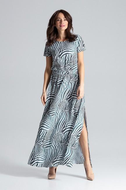 CM4478 Długa sukienka maxi...