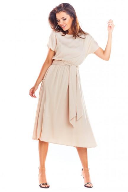 CM4495 Sukienka midi z...