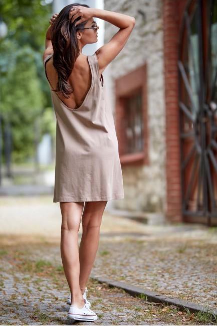 CM4513 Sukienka z odkrytymi...