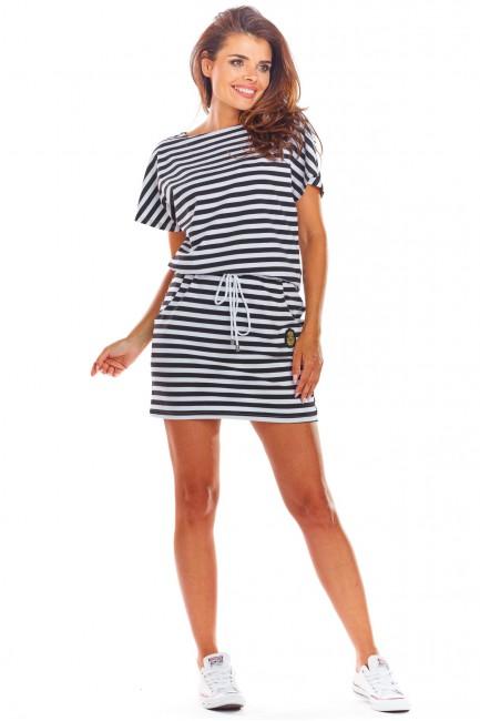 CM4516 Sukienka mini z...