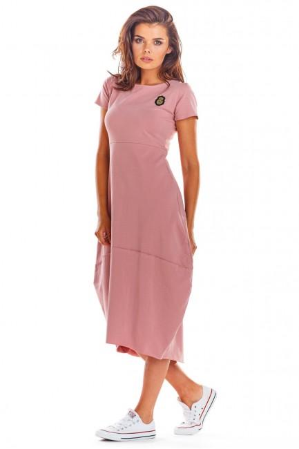 CM4522 Dzianinowa sukienka...