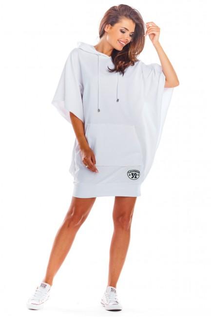CM4524 Luźna sukienka z...