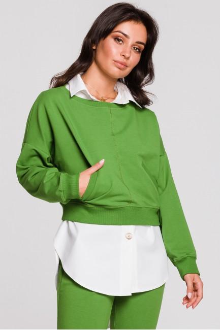 CM4600 Stylowa krótka bluza...