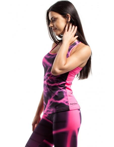 Sportowy top damski na siłownię - model 13