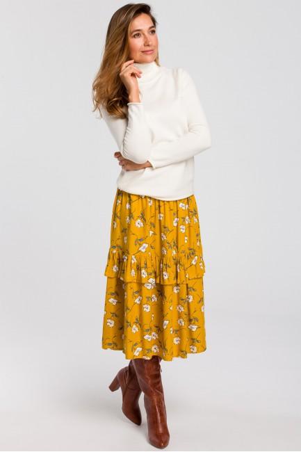 CM4641 Zwiewna spódnica...