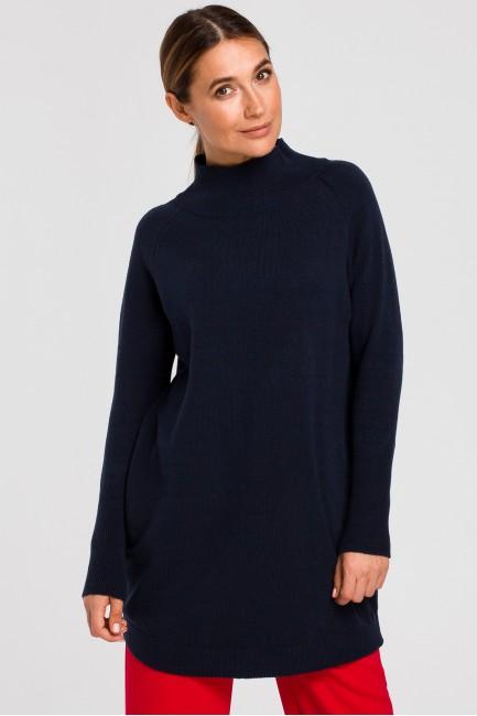 CM4646 Dłuższy sweter z...
