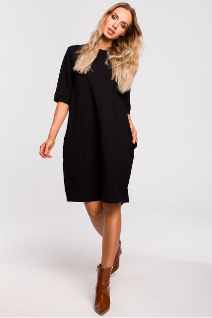 Sukienka bombka - czarna