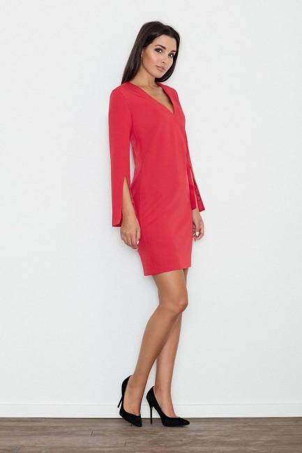 CM3234 Elegancka sukienka z...