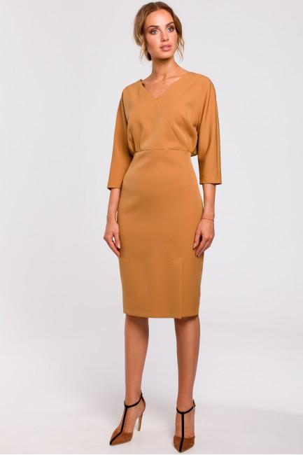 CM4782 Sukienka z luźną...