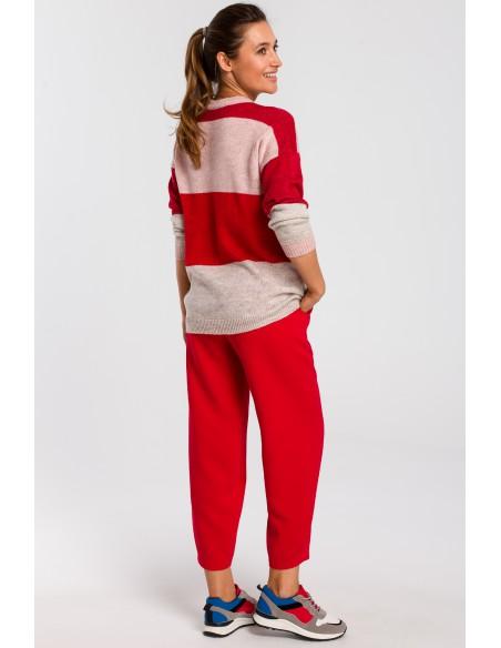 Sweter w pasy - model 2