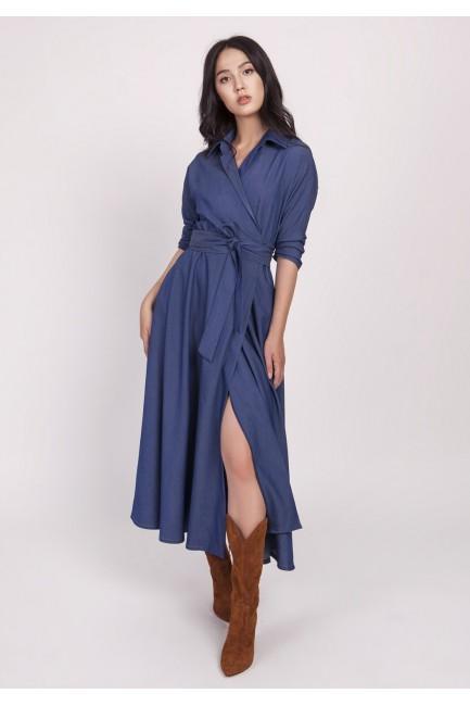 CM4661 Długa sukienka z...