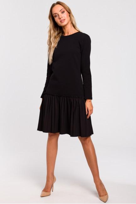 CM4766 Sukienka z plisowaną...