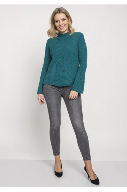 CM4672 Kobiecy sweter z...