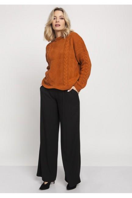 CM4675 Duży wygodny sweter...