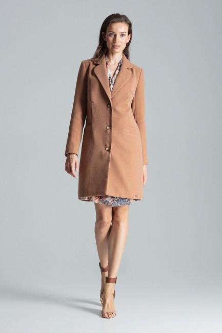 CM4692 Klasyczny płaszcz...