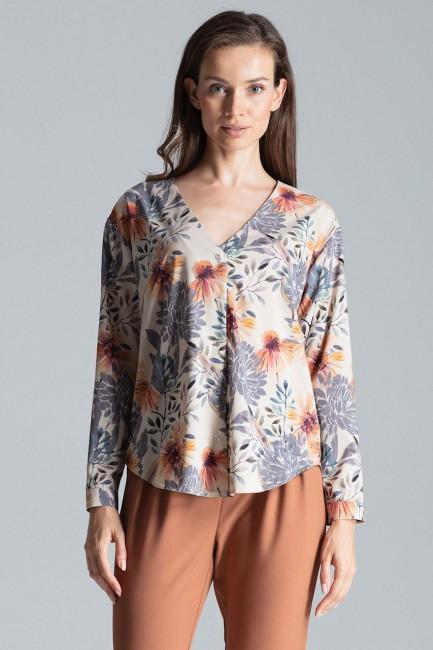 CM4693 Koszula z długim...