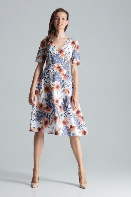 CM4695 Trapezowa sukienka...