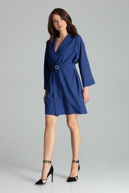CM4709 Luźna sukienka z...