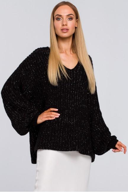 CM4804 Luźny sweter z...