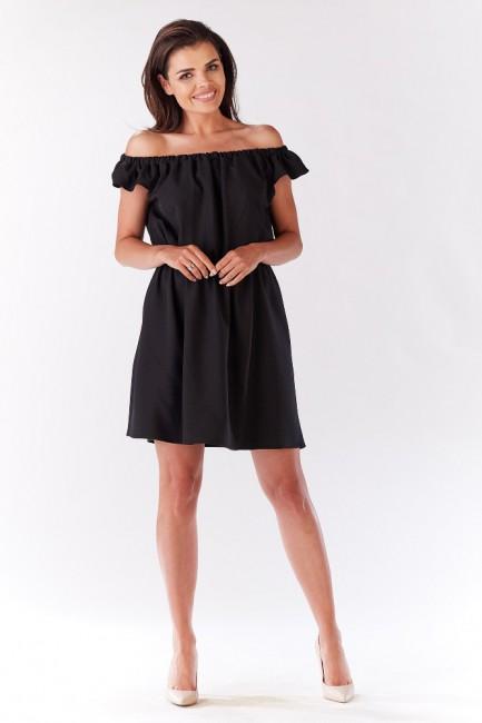 CM3279 Zwiewna sukienka na...