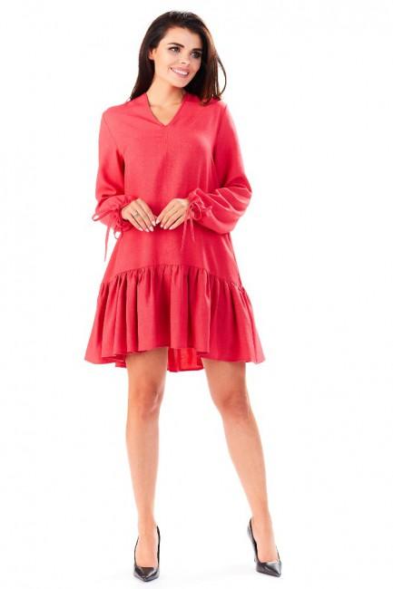 CM3288 Luźna sukienka mini...