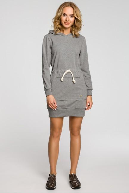 CM0985 Dresowa sukienka...
