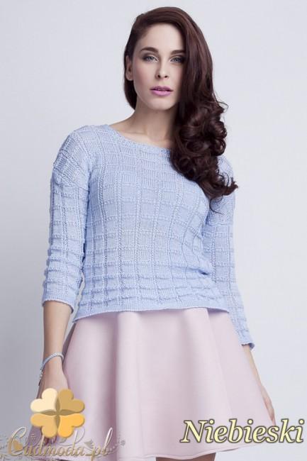 WYCOFANY Klasyczny sweter w...