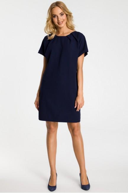 CM3302 Luźna sukienka z...