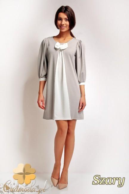 WYCOFANY Mini sukienka z...