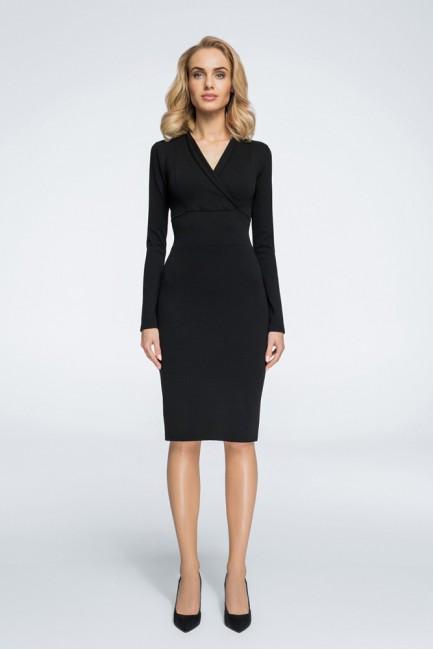 CM3053 Ołówkowa sukienka z...