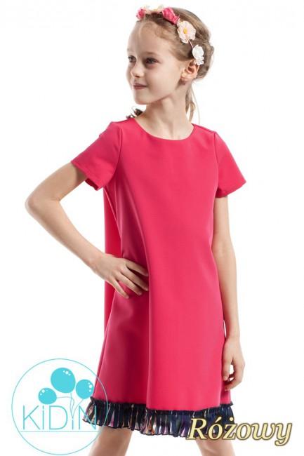 CM2263 Elegancka sukienka z...