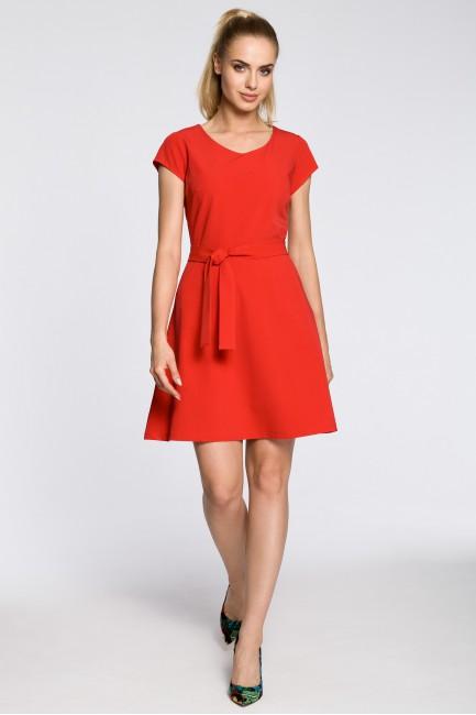 Klasyczna szmizjerka na wesele - czerwona