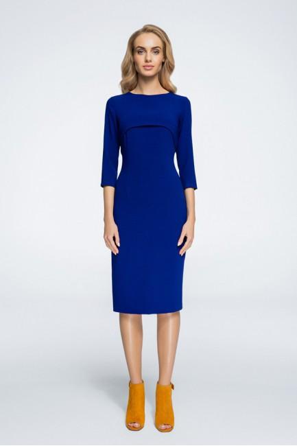 CM3055 Stylowa sukienka z...