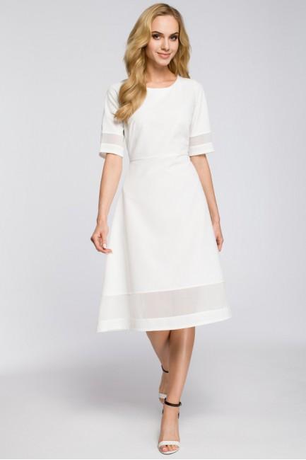 CM2622 Szyfonowa sukienka...