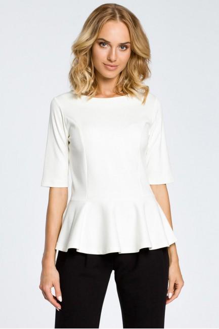CM0206 Elegancka bluzka z...