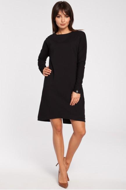 CM2791 Trapezowa sukienka z...