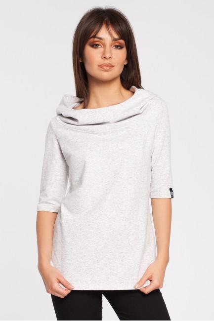 Stylowa bluza z kapturem - stracciatella