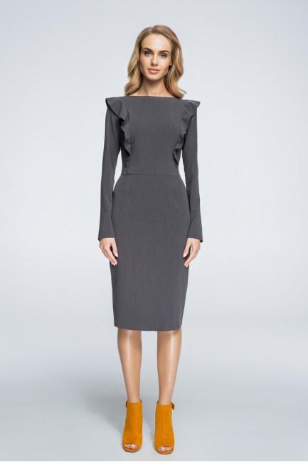 CM3057 Ołówkowa sukienka...