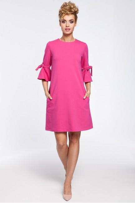 CM2902 Trapezowa sukienka z...