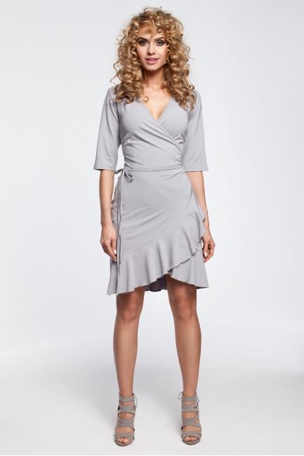 CM2910 Przewiązana sukienka...