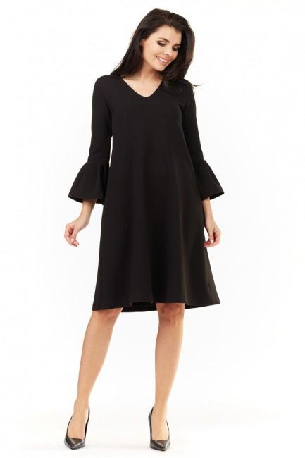 CM3498 Sukienka z falbanami...
