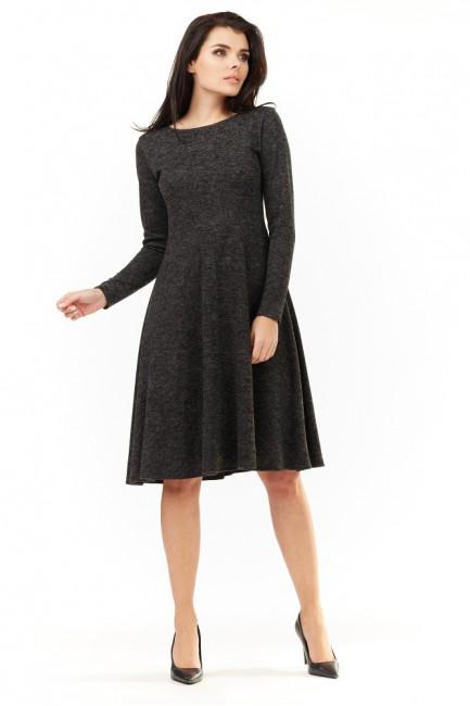 CM3501 Dzianinowa sukienka...
