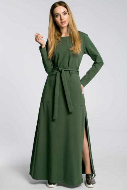 CM3582 Sukienka maxi z...