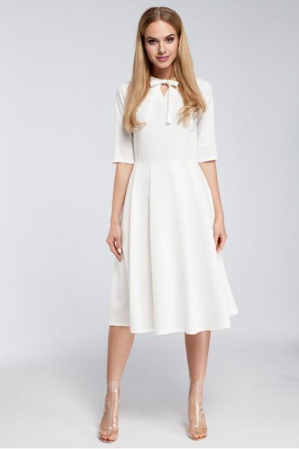 CM2922 Odcinana sukienka z...