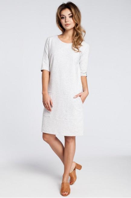 CM3030 Klasyczna sukienka z...