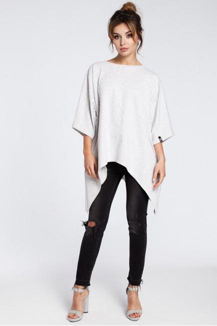 CM3031 Asymetryczna bluza...