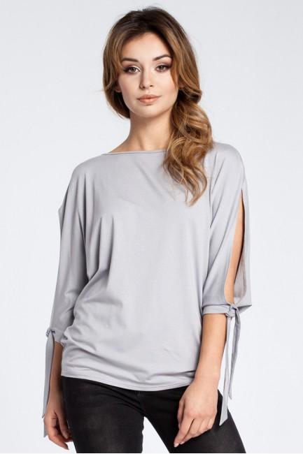 CM3033 Nowoczesna bluzka z...
