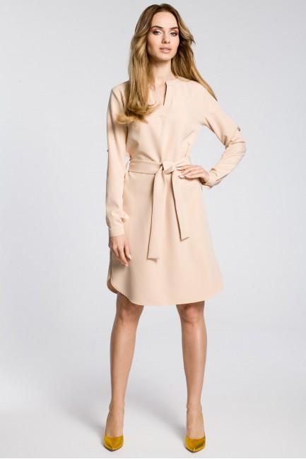 CM3589 Sukienka koszulowa z...