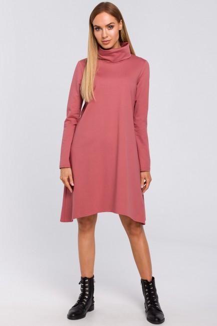CM4852 Trapezowa sukienka z...