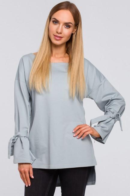 CM4851 Bluza z wiązaniem...